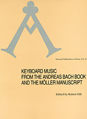 Cover: Keyboard Music from the Andreas Bach Book and the Möller Manuscript