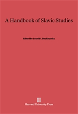Cover: A Handbook of Slavic Studies