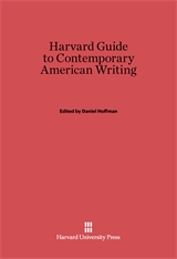 Cover: The Harvard Guide to Contemporary American Writing