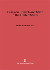 Cover: Cases on Church and State in the United States