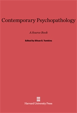 Cover: Contemporary Psychopathology: A Source Book
