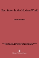 Cover: New States in the Modern World