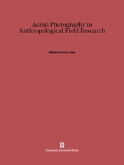 Cover: Aerial Photography in Anthropological Field Research