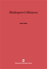 Cover: Shakespeare's Silences