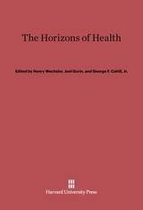 Cover: The Horizons of Health