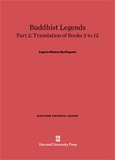Cover: Buddhist Legends: Translated from the Original Pali Text of the Dhammapada Commentary, Part 2: Translation of Books 3–12
