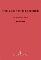 Cover: From Copyright to Copperfield: The Identity of Dickens