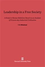 Cover: Leadership In A Free Society in E-DITION