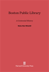Cover: Boston Public Library: A Centennial History