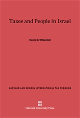 Cover: Taxes and People in Israel in E-DITION