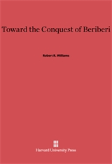 Cover: Toward the Conquest of Beriberi