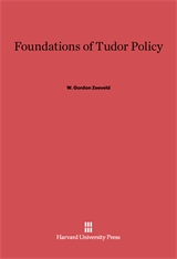 Cover: Foundations of Tudor Policy