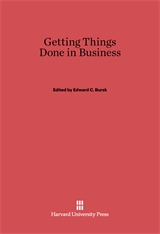 Cover: Getting Things Done in Business