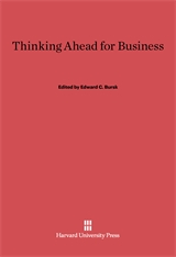 Cover: Thinking Ahead for Business
