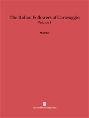 Cover: The Italian Followers of Caravaggio, Volume I