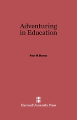 Cover: Adventuring in Education