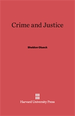 Cover: Crime and Justice