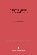 Cover: Angevin Britain and Scandinavia