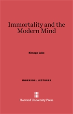 Cover: Immortality and the Modern Mind