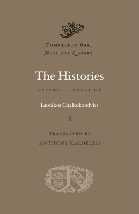 Cover: The Histories, Volume I: Books 1-5, from Harvard University Press