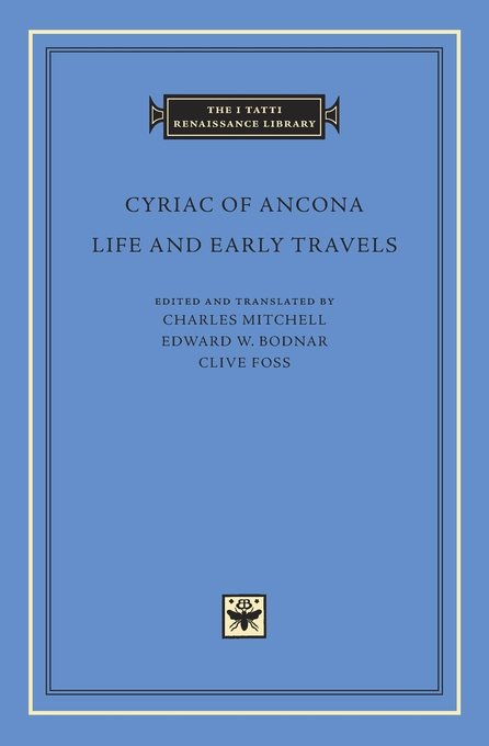 Cover: Life and Early Travels, from Harvard University Press