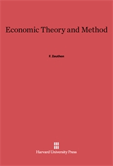 Cover: Economic Theory and Method