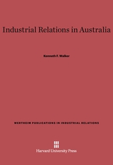 Cover: Industrial Relations in Australia