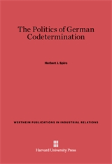 Cover: The Politics of German Codetermination