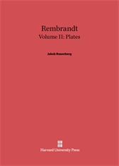 Cover: Rembrandt, Volume II: Plates