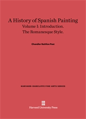 Cover: A History of Spanish Painting, Volume I: Introduction. The Romanesque Style.