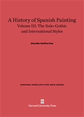 Cover: A History of Spanish Painting, Volume III: The Italo-Gothic and International Styles (continued)