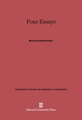 Cover: Four Essays