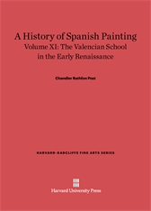Cover: A History of Spanish Painting, Volume XI: The Valencian School in the Early Renaissance