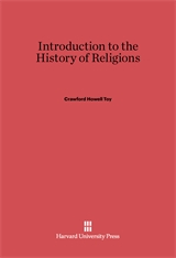 Cover: Introduction to the History of Religions