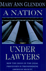 Cover: A Nation under Lawyers