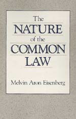 Cover: The Nature of the Common Law in PAPERBACK