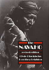 Cover: The Navaho in PAPERBACK