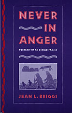Cover: Never in Anger: Portrait of an Eskimo Family