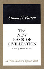 Cover: The New Basis of Civilization in HARDCOVER