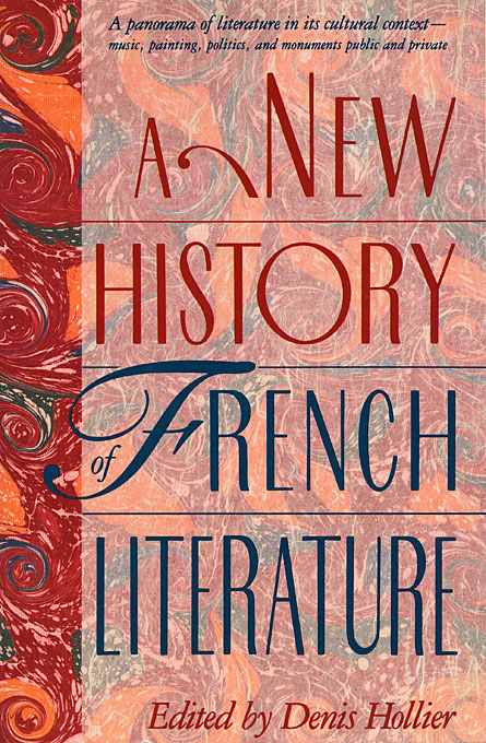 Cover: A New History of French Literature, from Harvard University Press