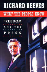 Cover: What the People Know: Freedom and the Press