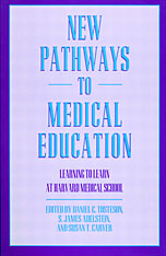 Cover: New Pathways to Medical Education in PAPERBACK