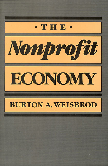 Cover: The Nonprofit Economy, from Harvard University Press