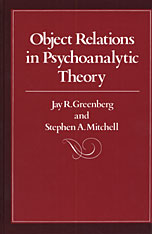Cover: Object Relations in Psychoanalytic Theory