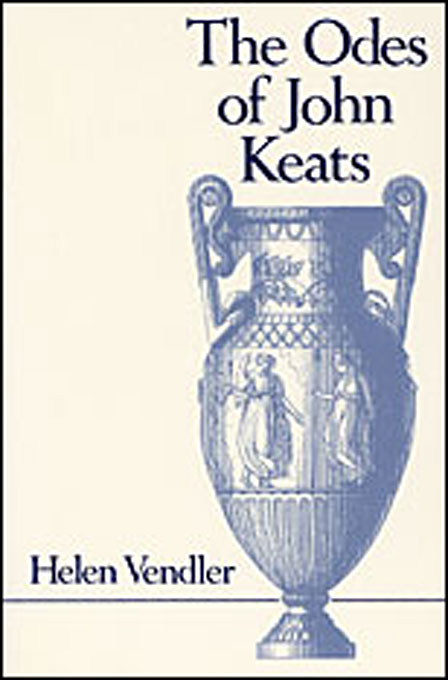 Cover: The Odes of John Keats, from Harvard University Press