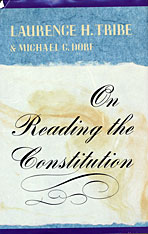 Cover: On Reading the Constitution in PAPERBACK