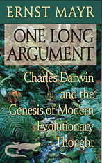 Cover: One Long Argument: Charles Darwin and the Genesis of Modern Evolutionary Thought