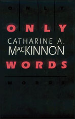 Cover: Only Words in PAPERBACK