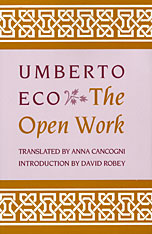 Cover: The Open Work in PAPERBACK