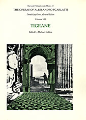 Cover: The Operas of Alessandro Scarlatti, Volume VIII: Tigrane